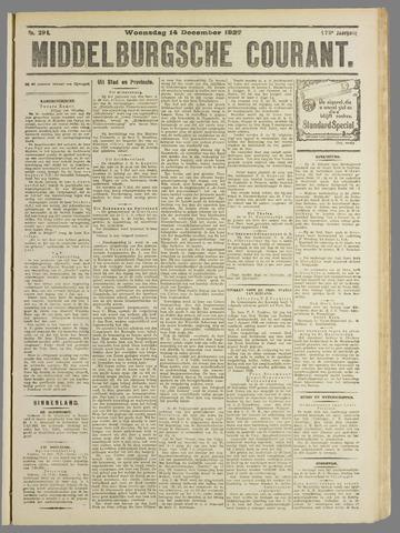 Middelburgsche Courant 1927-12-14