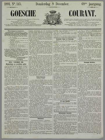 Goessche Courant 1881-12-08