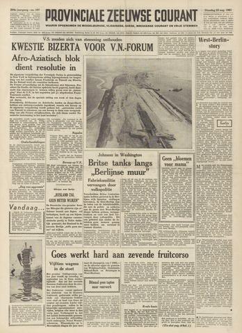 Provinciale Zeeuwse Courant 1961-08-22