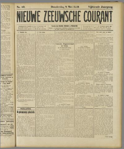 Nieuwe Zeeuwsche Courant 1919-05-08
