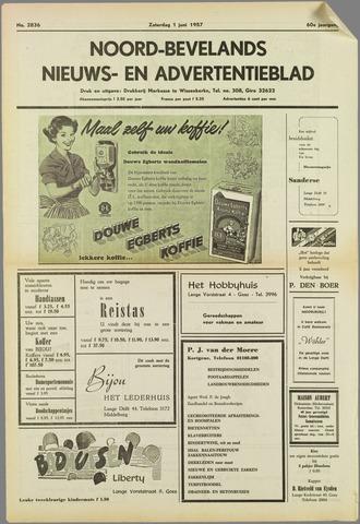 Noord-Bevelands Nieuws- en advertentieblad 1957-06-01