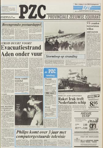 Provinciale Zeeuwse Courant 1986-01-20