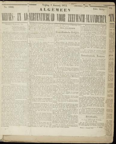 Ter Neuzensche Courant. Algemeen Nieuws- en Advertentieblad voor Zeeuwsch-Vlaanderen / Neuzensche Courant ... (idem) / (Algemeen) nieuws en advertentieblad voor Zeeuwsch-Vlaanderen 1875-01-01