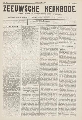 Zeeuwsche kerkbode, weekblad gewijd aan de belangen der gereformeerde kerken/ Zeeuwsch kerkblad 1936-05-15