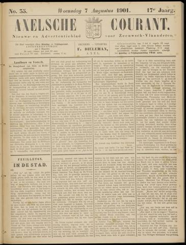 Axelsche Courant 1901-08-07