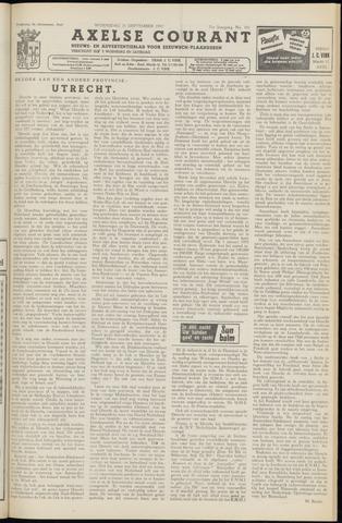 Axelsche Courant 1957-09-25