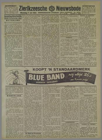 Zierikzeesche Nieuwsbode 1932-07-11
