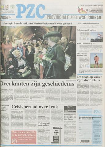 Provinciale Zeeuwse Courant 2003-03-15
