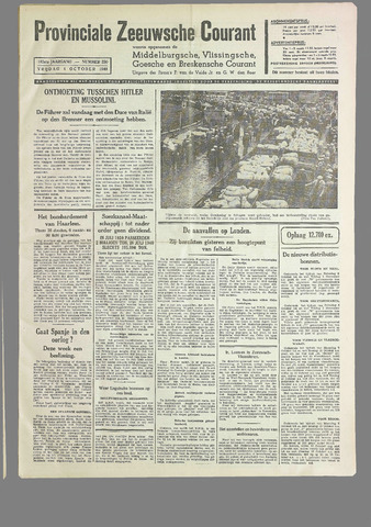 Provinciale Zeeuwse Courant 1940-10-04