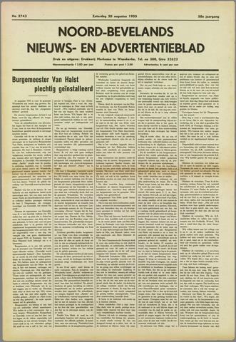 Noord-Bevelands Nieuws- en advertentieblad 1955-08-20