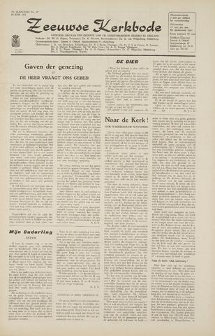 Zeeuwsche kerkbode, weekblad gewijd aan de belangen der gereformeerde kerken/ Zeeuwsch kerkblad 1965-06-25
