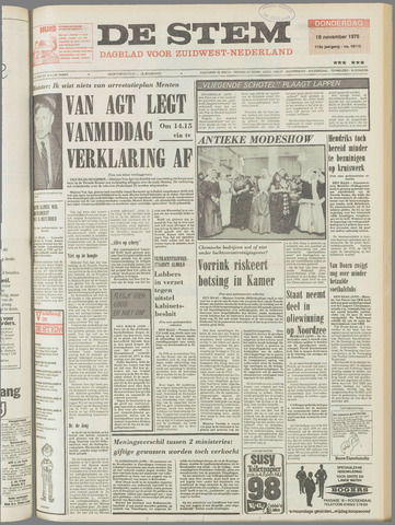 de Stem 1976-11-18