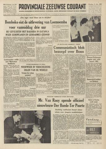 Provinciale Zeeuwse Courant 1960-10-11