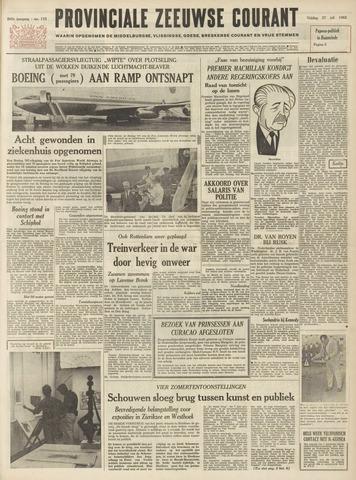 Provinciale Zeeuwse Courant 1962-07-27