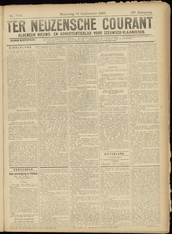 Ter Neuzensche Courant. Algemeen Nieuws- en Advertentieblad voor Zeeuwsch-Vlaanderen / Neuzensche Courant ... (idem) / (Algemeen) nieuws en advertentieblad voor Zeeuwsch-Vlaanderen 1926-09-13
