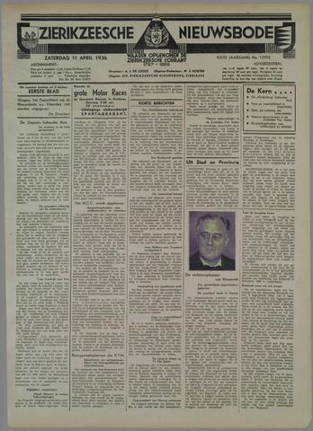 Zierikzeesche Nieuwsbode 1936-04-11