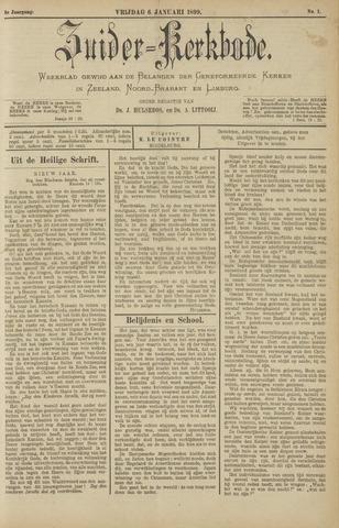 Zuider Kerkbode, Weekblad gewijd aan de belangen der gereformeerde kerken in Zeeland, Noord-Brabant en Limburg. 1899-01-06
