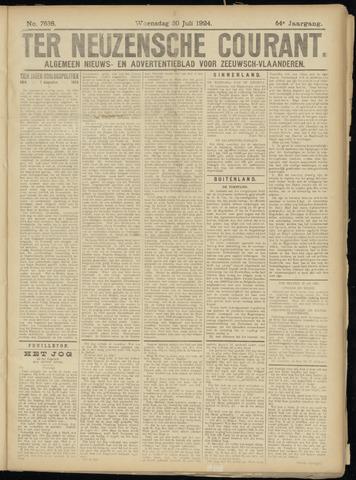 Ter Neuzensche Courant. Algemeen Nieuws- en Advertentieblad voor Zeeuwsch-Vlaanderen / Neuzensche Courant ... (idem) / (Algemeen) nieuws en advertentieblad voor Zeeuwsch-Vlaanderen 1924-07-30