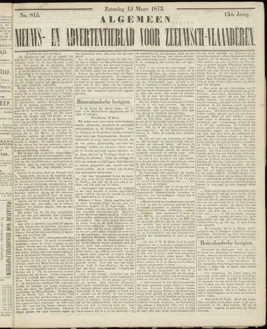 Ter Neuzensche Courant. Algemeen Nieuws- en Advertentieblad voor Zeeuwsch-Vlaanderen / Neuzensche Courant ... (idem) / (Algemeen) nieuws en advertentieblad voor Zeeuwsch-Vlaanderen 1873-03-15