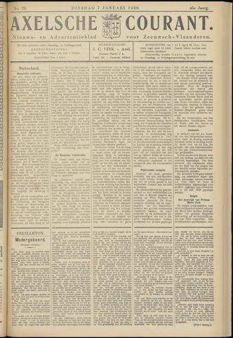 Axelsche Courant 1930-01-07