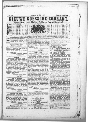 Nieuwe Goessche Courant 1877-05-08