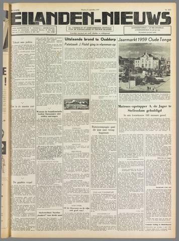 Eilanden-nieuws. Christelijk streekblad op gereformeerde grondslag 1959-09-08