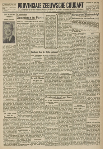 Provinciale Zeeuwse Courant 1946-06-29