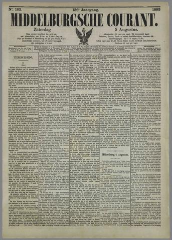 Middelburgsche Courant 1893-08-05