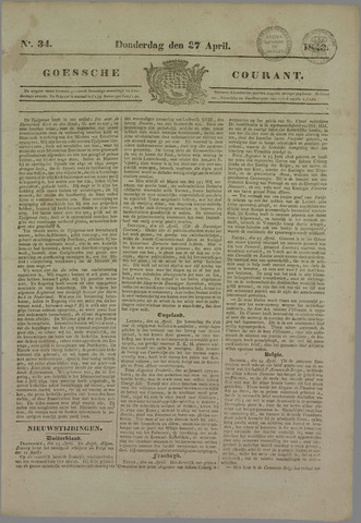 Goessche Courant 1843-04-27