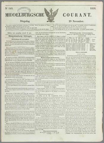 Middelburgsche Courant 1859-11-29