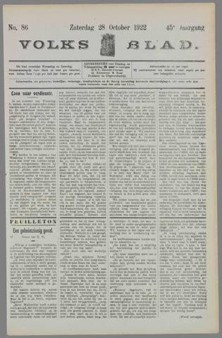 Volksblad 1922-10-28