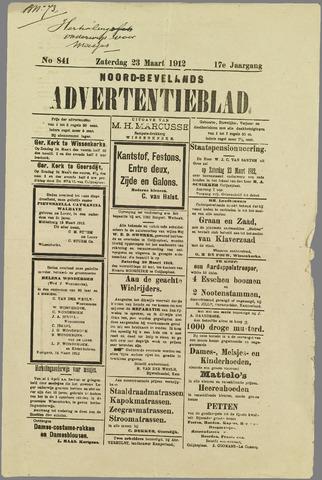 Noord-Bevelands Nieuws- en advertentieblad 1912
