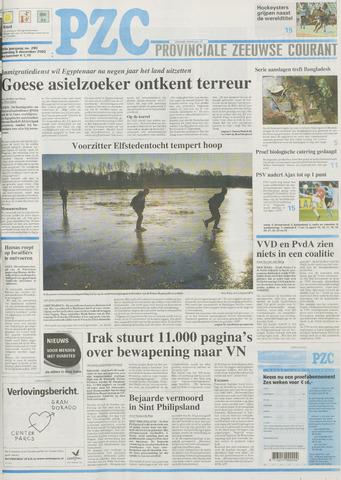 Provinciale Zeeuwse Courant 2002-12-09