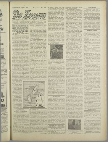 De Zeeuw. Christelijk-historisch nieuwsblad voor Zeeland 1944-07-05