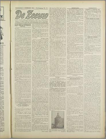 De Zeeuw. Christelijk-historisch nieuwsblad voor Zeeland 1944-02-09