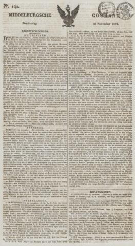 Middelburgsche Courant 1829-11-26