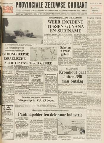 Provinciale Zeeuwse Courant 1969-09-10