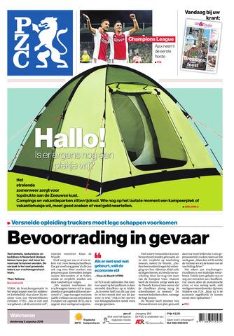 Provinciale Zeeuwse Courant 2018-08-02