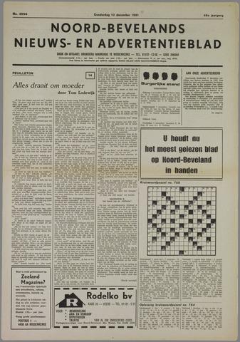Noord-Bevelands Nieuws- en advertentieblad 1981-12-10