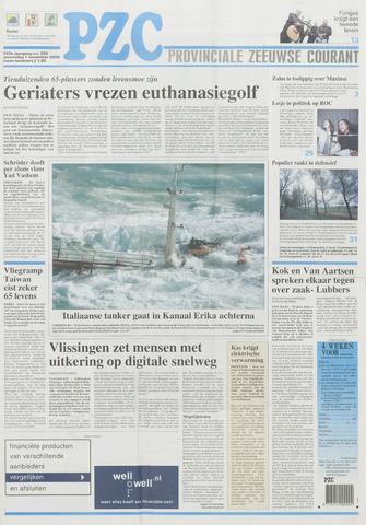 Provinciale Zeeuwse Courant 2000-11-01
