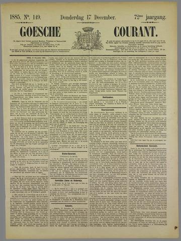 Goessche Courant 1885-12-17