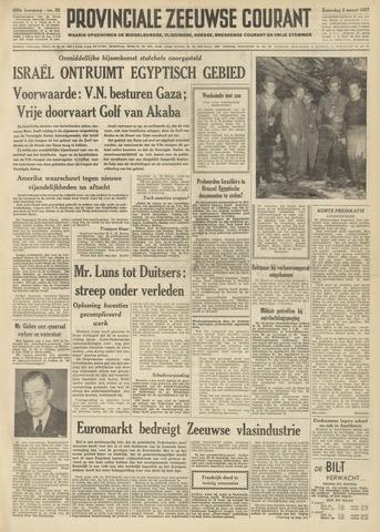Provinciale Zeeuwse Courant 1957-03-02