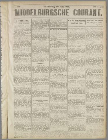Middelburgsche Courant 1922-07-20