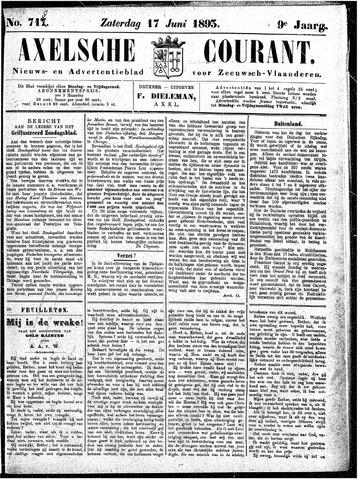 Axelsche Courant 1893-06-17