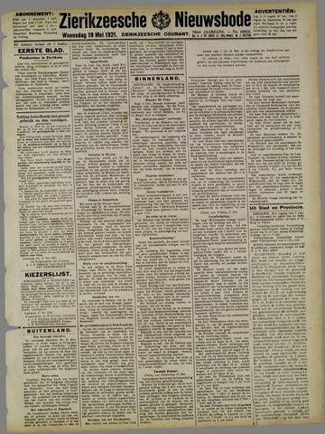Zierikzeesche Nieuwsbode 1921-05-18
