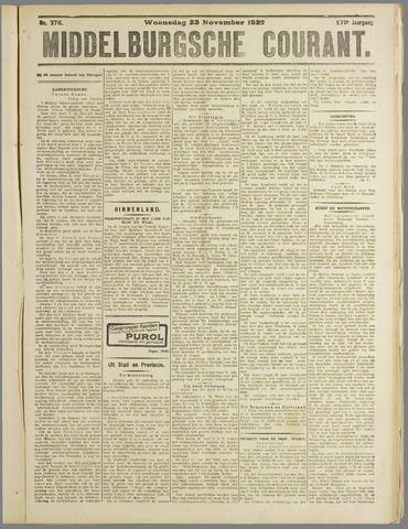 Middelburgsche Courant 1927-11-23