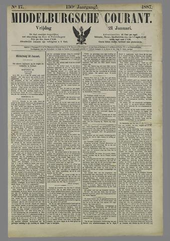 Middelburgsche Courant 1887-01-21