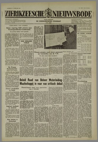 Zierikzeesche Nieuwsbode 1955-02-12