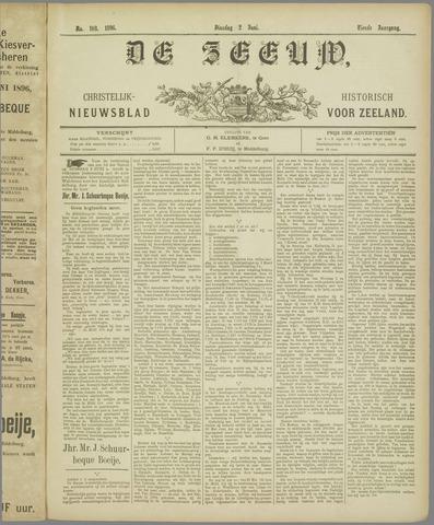 De Zeeuw. Christelijk-historisch nieuwsblad voor Zeeland 1896-06-02