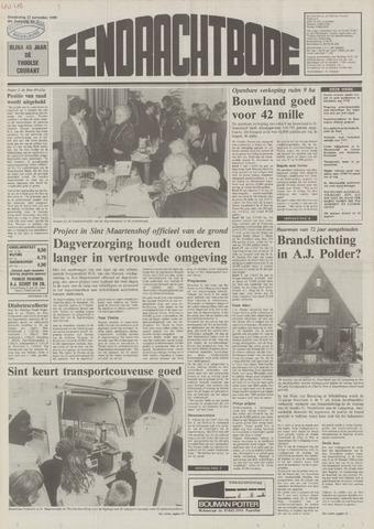 Eendrachtbode (1945-heden)/Mededeelingenblad voor het eiland Tholen (1944/45) 1989-11-23